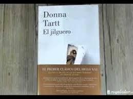 """Portad del llibre escrit per Donna Tartt, """"El jilguero""""."""